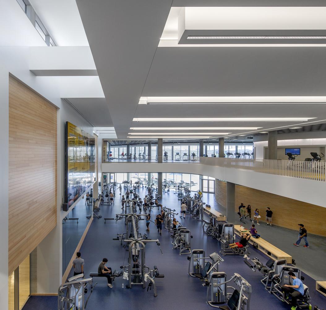 Дизайн спортивного комплекса – Зал на первом этаже