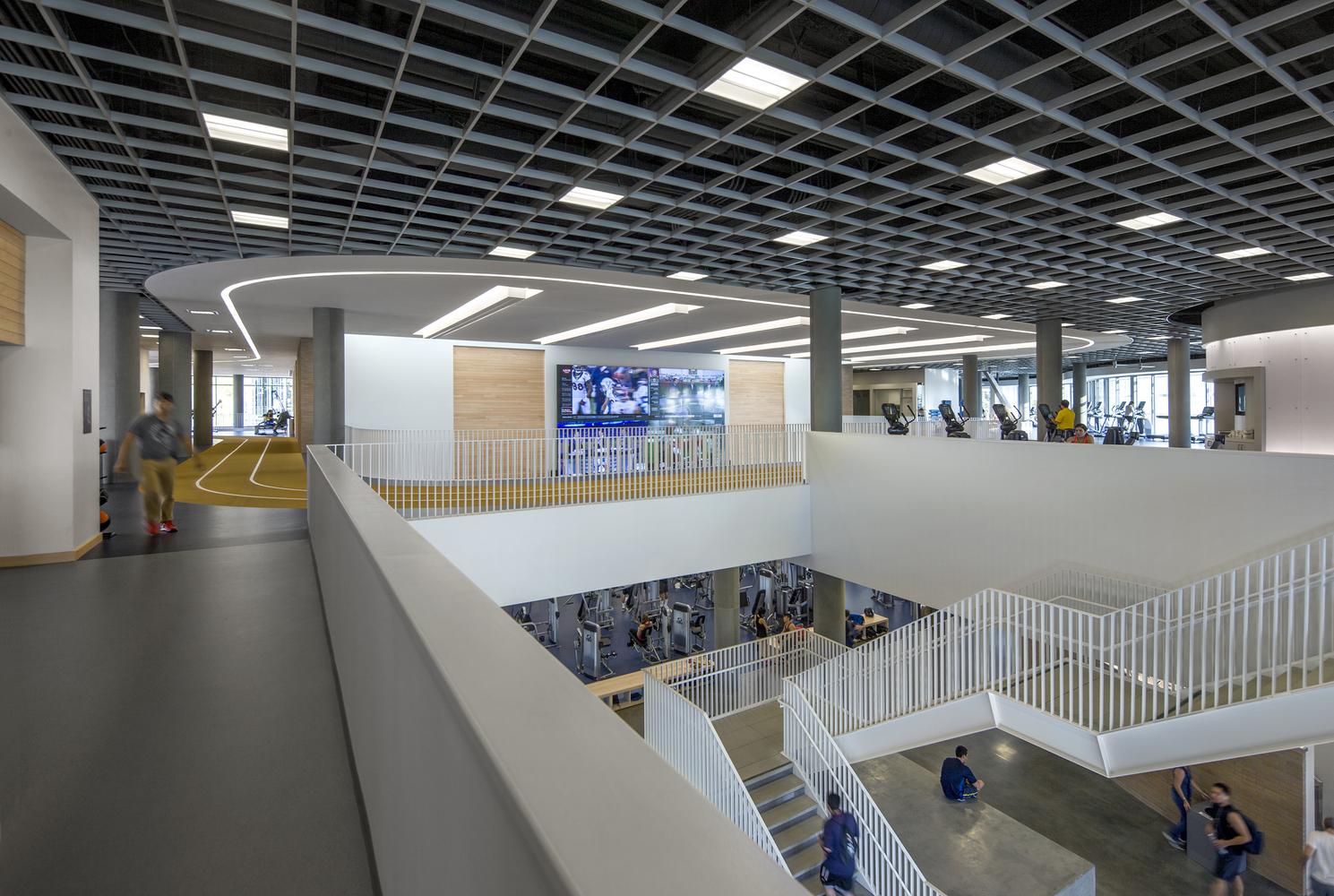 Дизайн спортивного комплекса – Второй этаж
