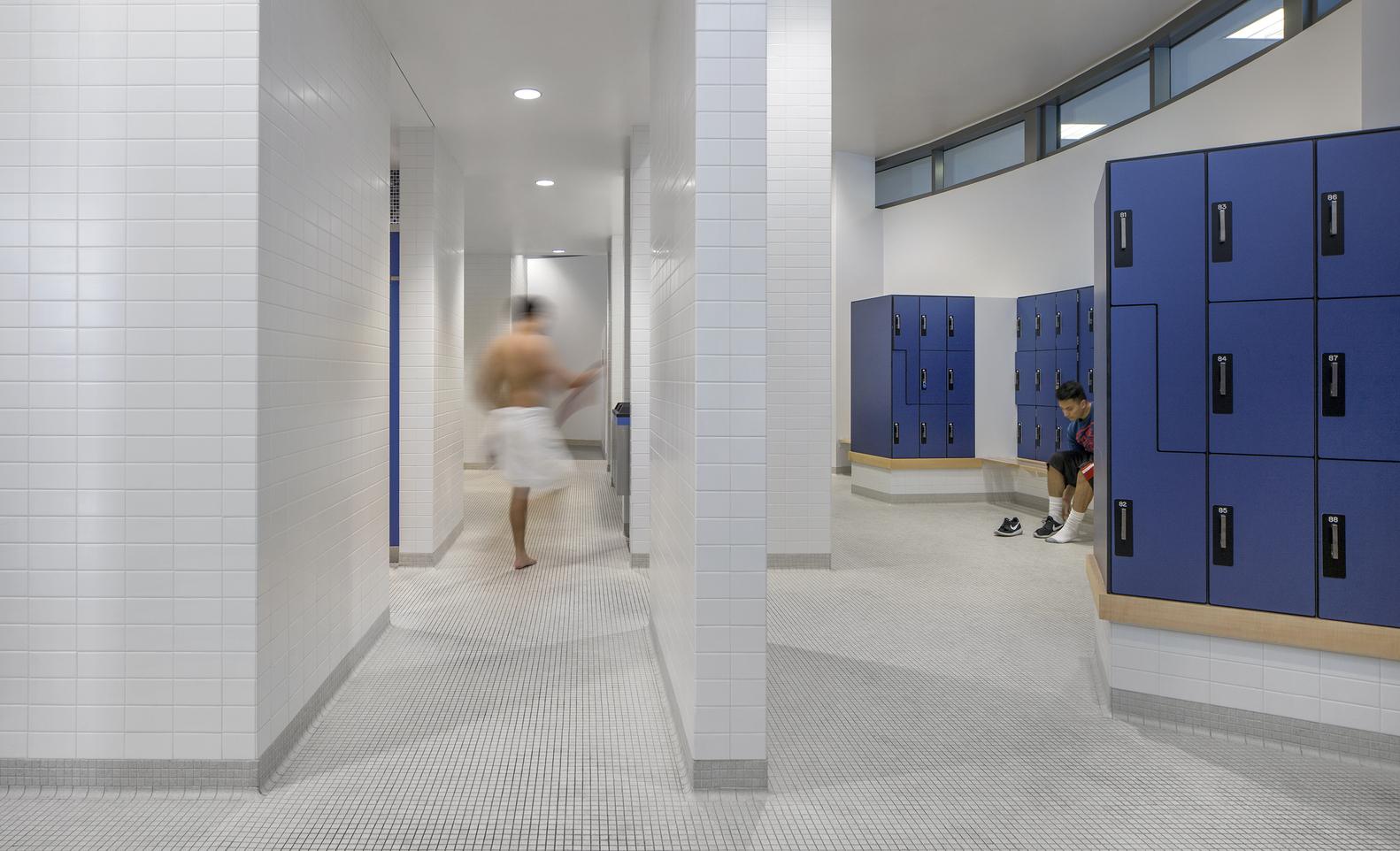 Дизайн спортивного комплекса – Раздевалка