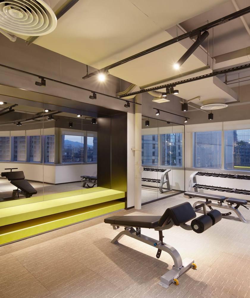 Дизайн спортивного центра – Фитнес-студия