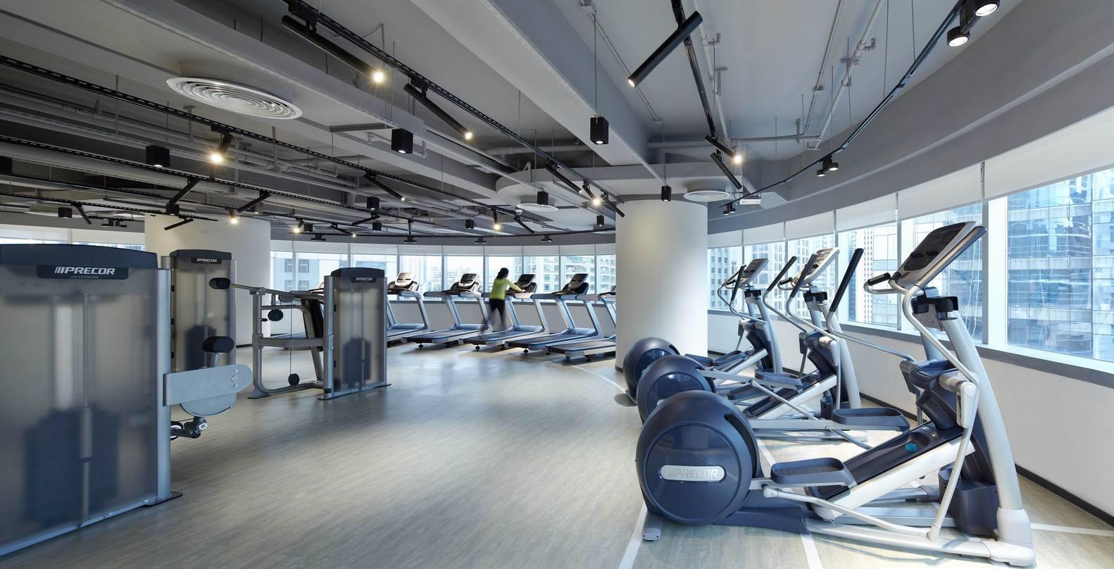 Дизайн спортивного центра – Тренажёрный зал