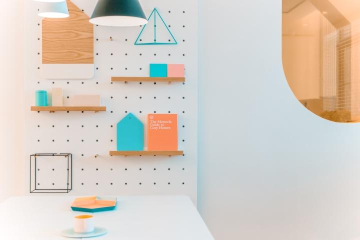 Дизайн стоматологической клиники: креативные полочки