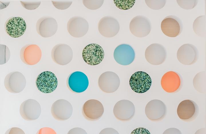 Дизайн стоматологической клиники: творческое оформление стены