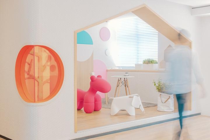 Дизайн стоматологической клиники: детская зона