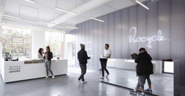 дизайн тренажёрного зала в Амстердаме