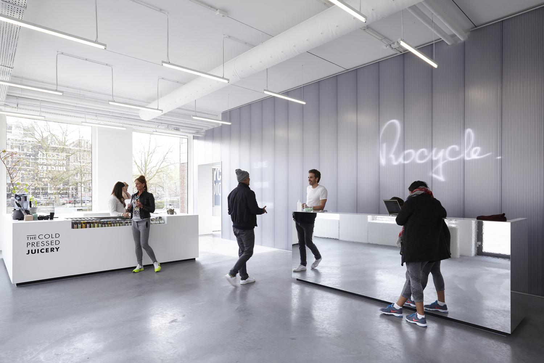 Дизайн тренажёрного зала в Нидерландах
