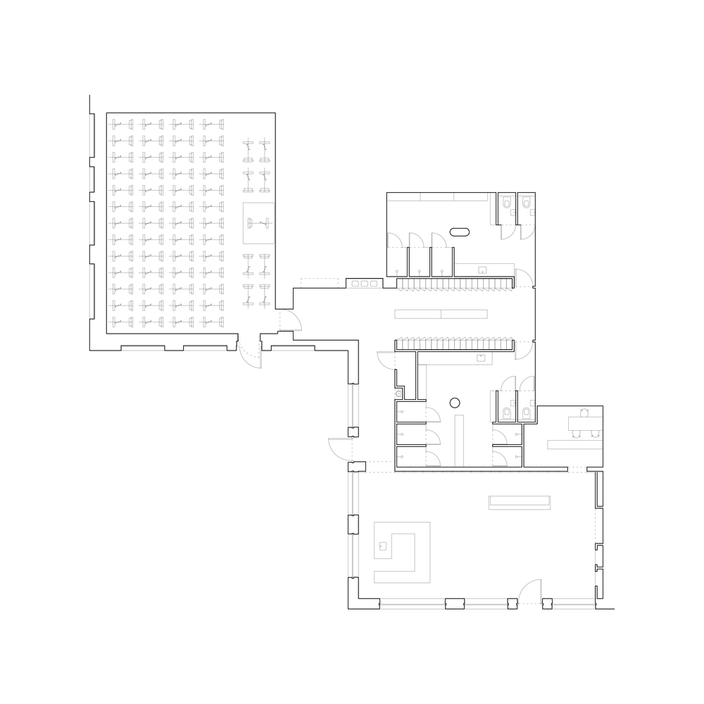 Дизайн тренажёрного зала – Планировка здания
