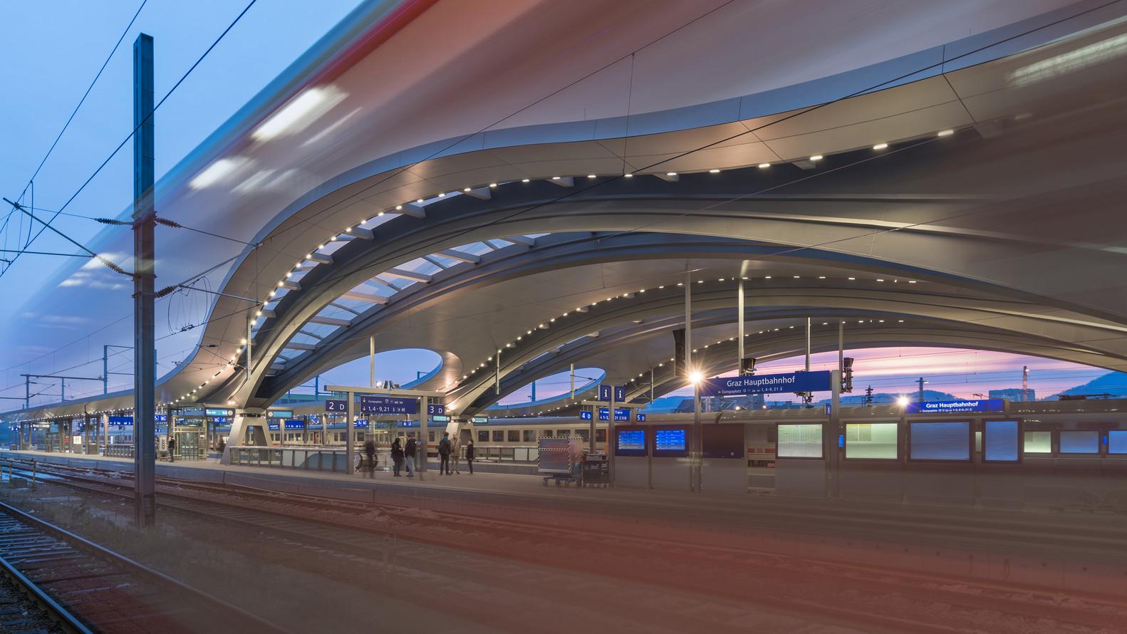 Современный дизайн вокзалов