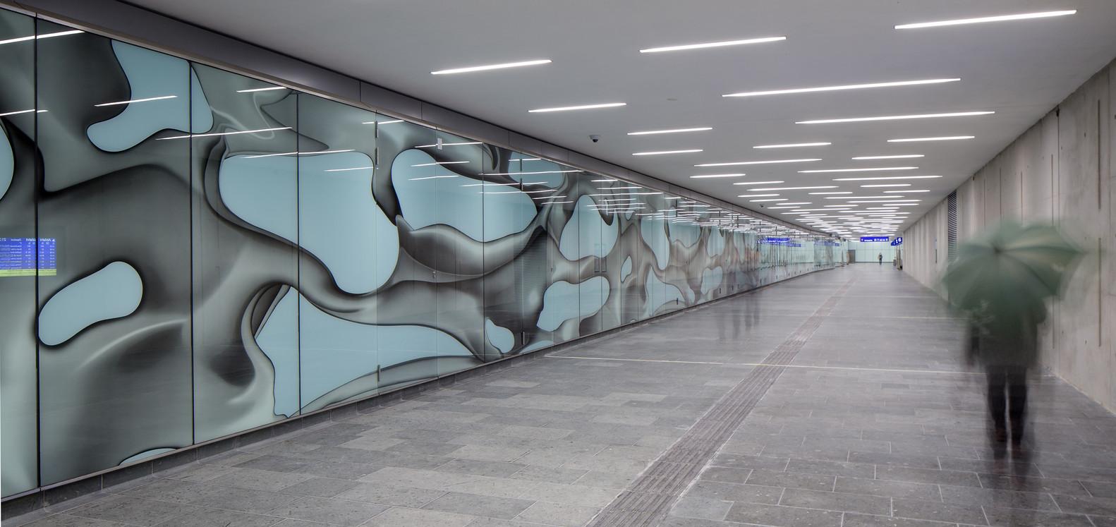 Оригинальный интерьер железнодорожного вокзала вокзала - Фото 1