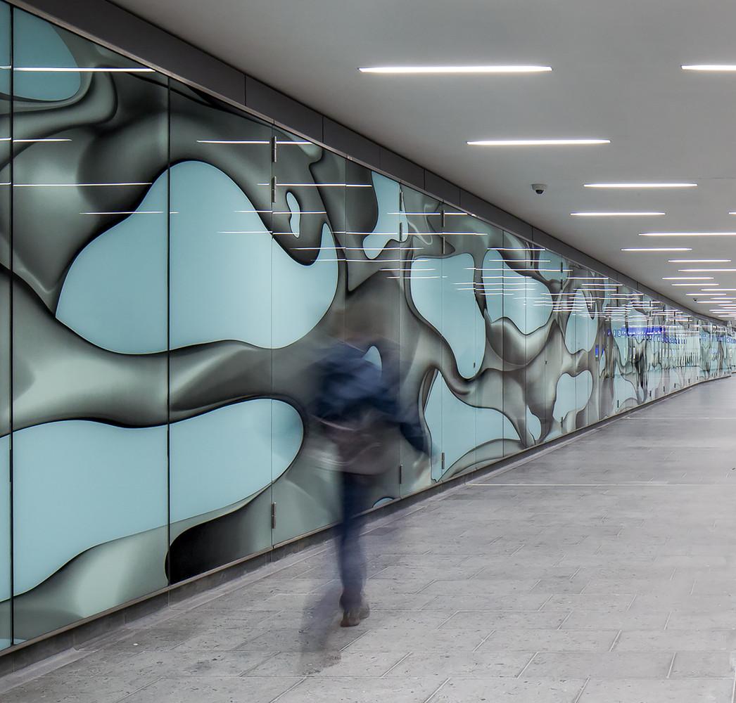 Оригинальный интерьер железнодорожного вокзала вокзала - Фото 9