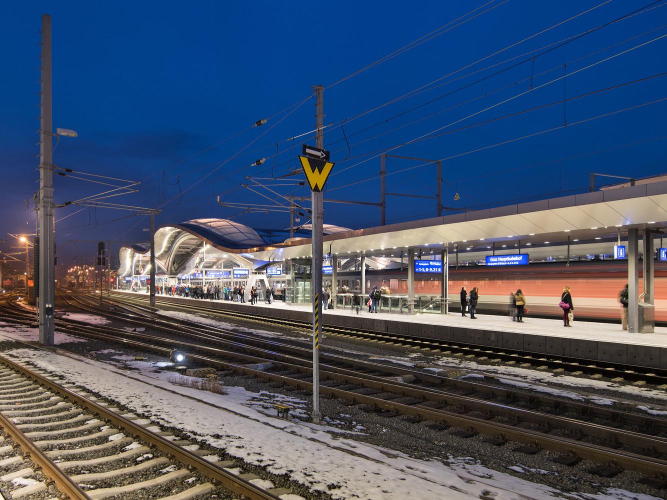 Оригинальный интерьер железнодорожного вокзала вокзала - Фото 11