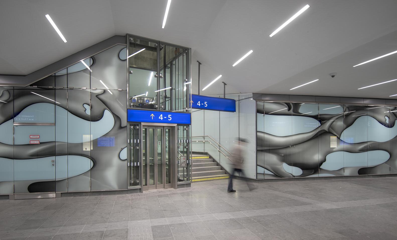 Оригинальный интерьер железнодорожного вокзала вокзала - Фото 14