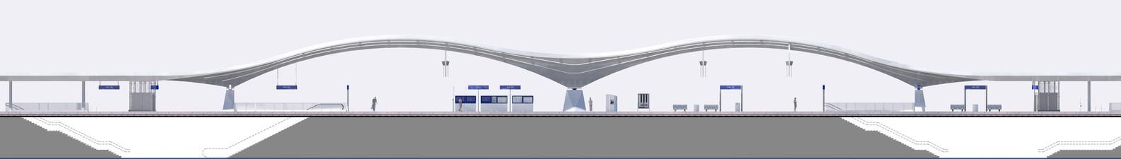 План-чертёж железнодорожного вокзала - Фото 3