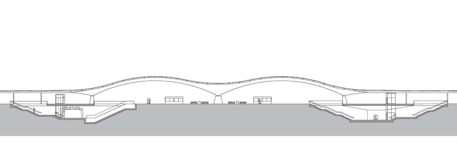 План-чертёж железнодорожного вокзала - Фото 4