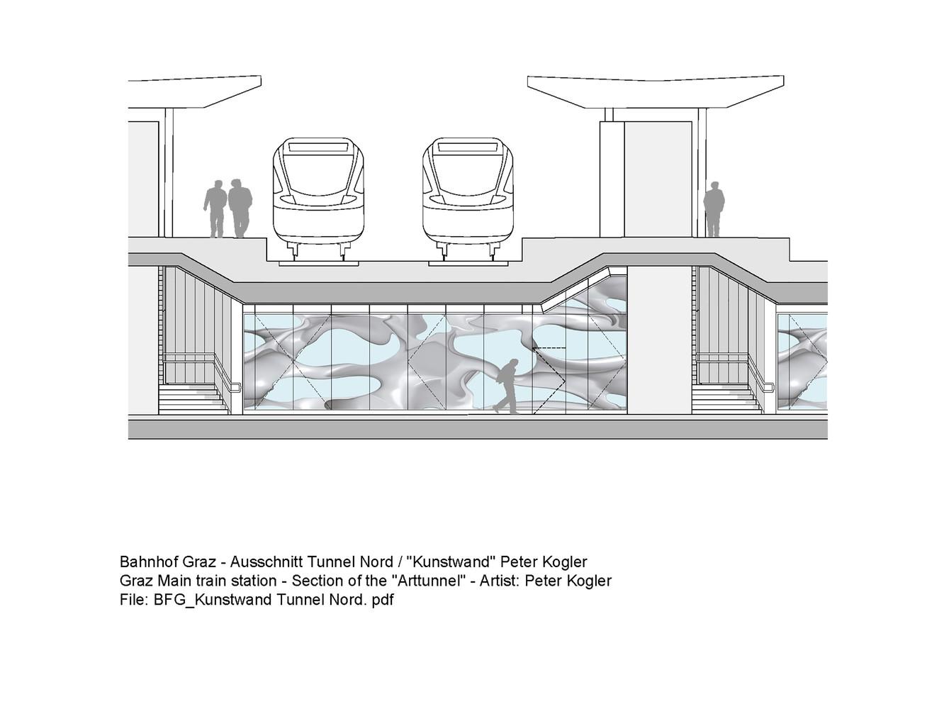 План-чертёж железнодорожного вокзала - Фото 5
