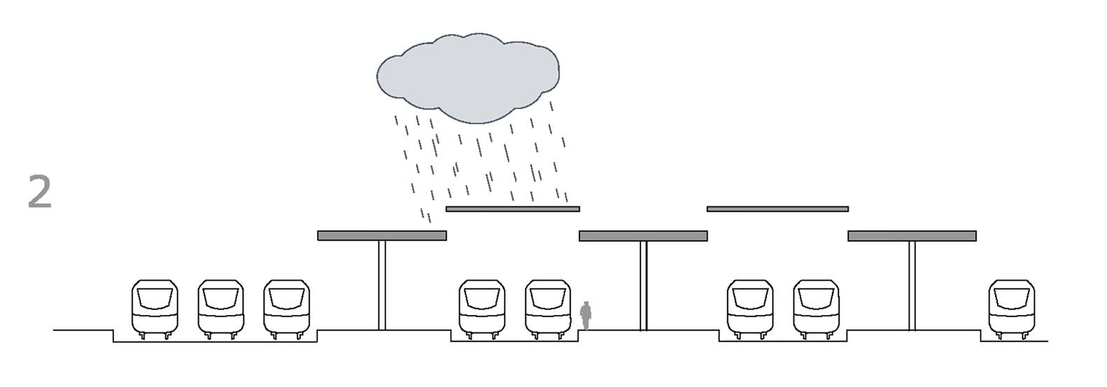 План-чертёж железнодорожного вокзала - Фото 33