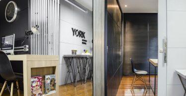 Домашний интерьер в офисе от York Digital