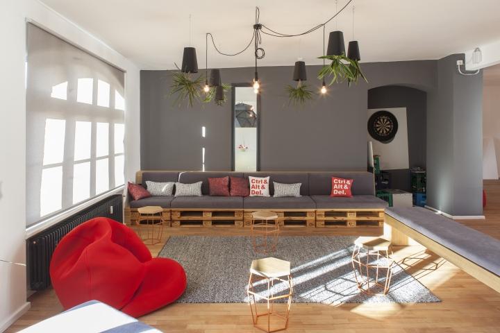 Домашний интерьер офиса Kloeckner I