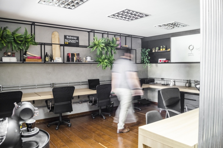 Домашний интерьер в офисе: рабочее пространство