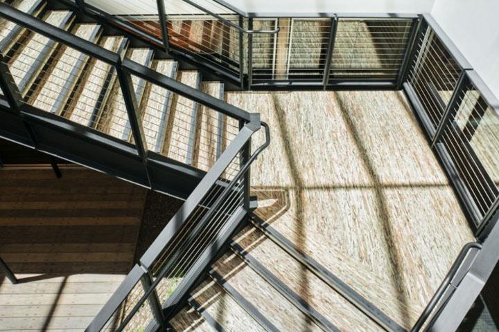 Лестница DPR–конструкторского бюро в Калифорнии