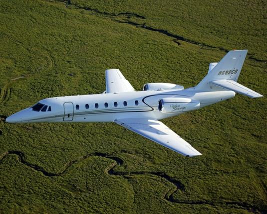 Межконтинентальный двухмоторный самолёт Cessna 680 Citation Sovereign