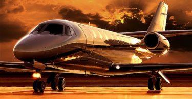 Двухмоторный самолёт Cessna 680 Citation Sovereign от американской компании