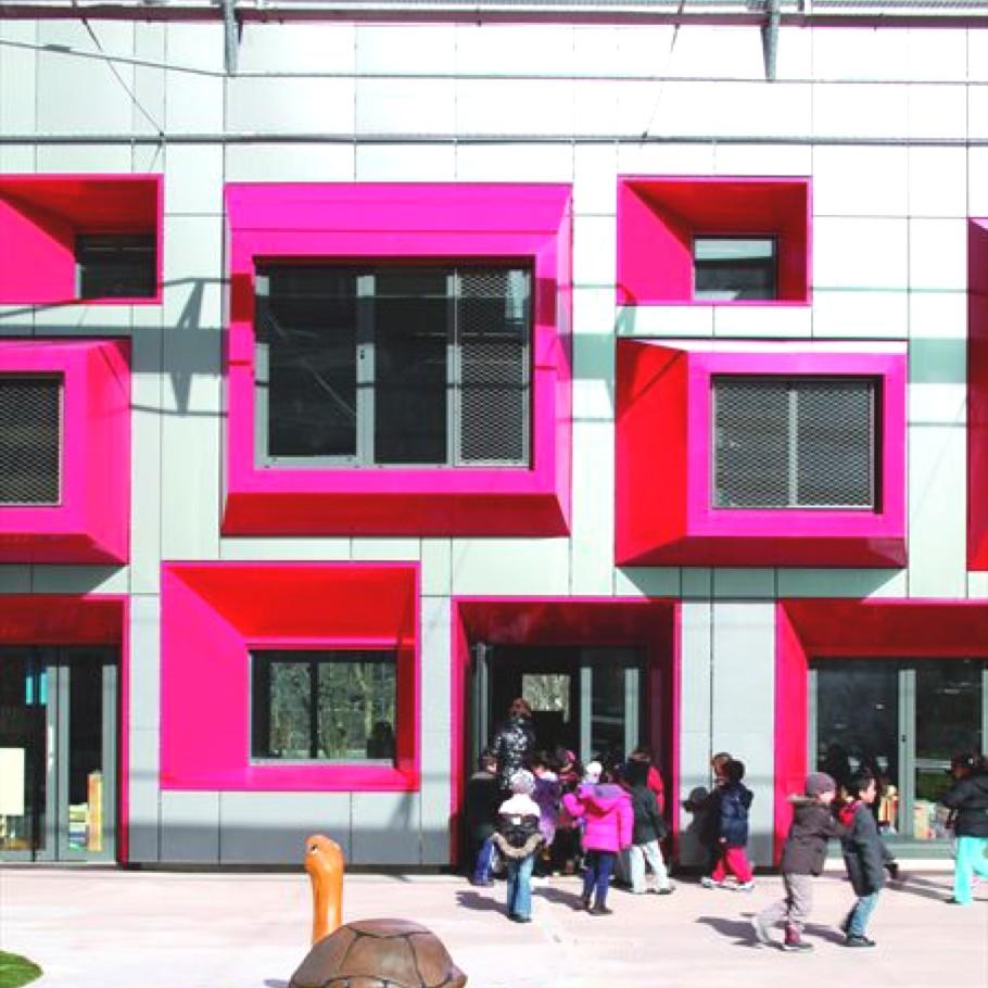 Дизайн современной школы Maternelle