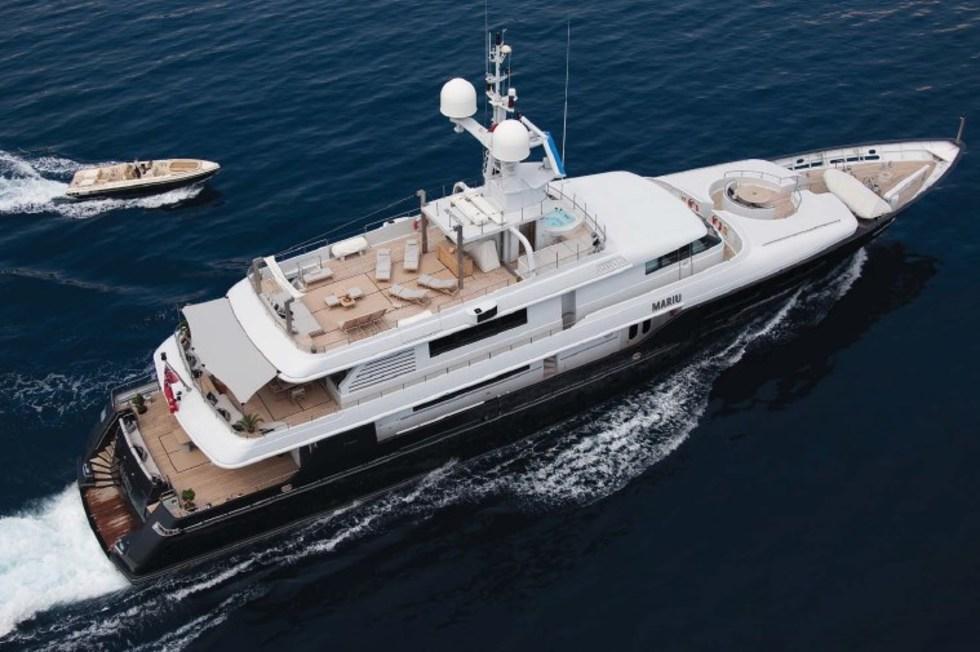 Океанская яхта от верфи Codecasa