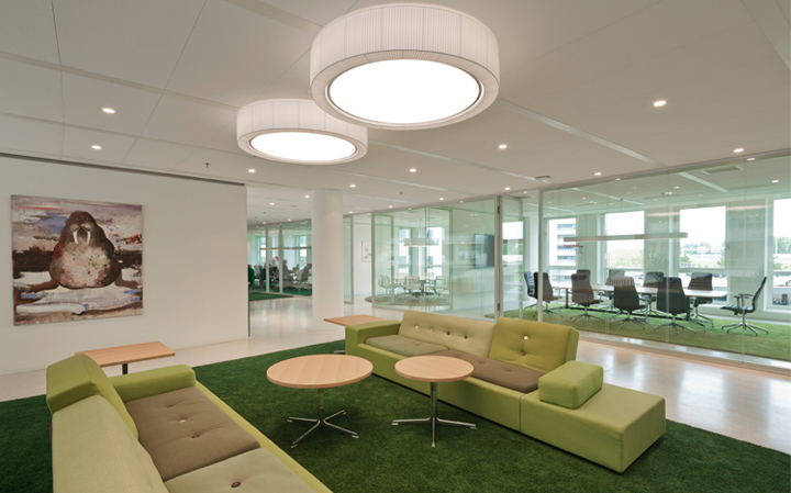 Новый офис Eneco в Роттердаме, Нидерланды