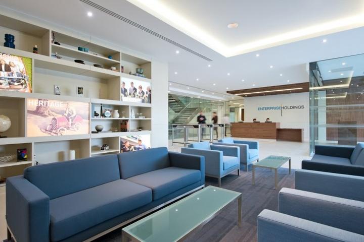 Приёмная штаб–квартиры Enterprise Rent-A-Car