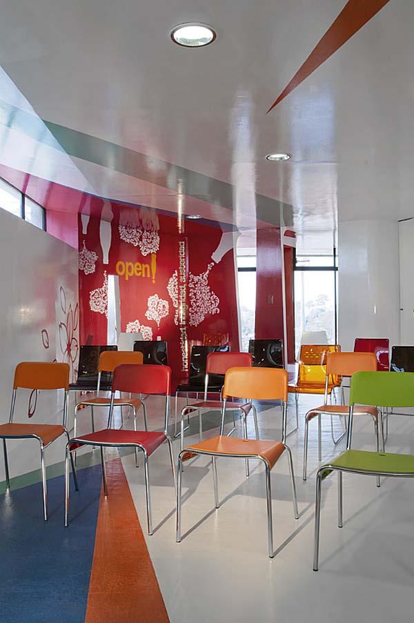 Дизайн интерьера учебного центра Espacio C