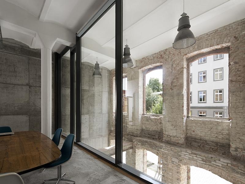 Дизайн интерьера фабрики в Берлине