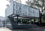 Фасад здания из пластика: грамотное использование вторсырья