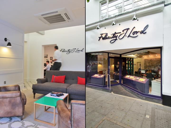 Офис агентства по недвижимости Felicity J Lord в Лондоне, Великобритания