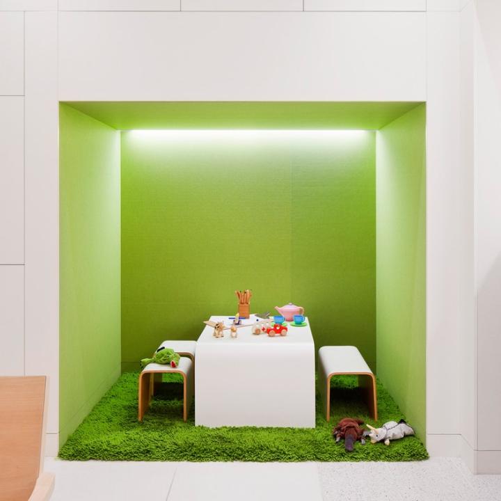 Дизайн детской клиники Flourish Paediatrics, Мельбурн, Австралия