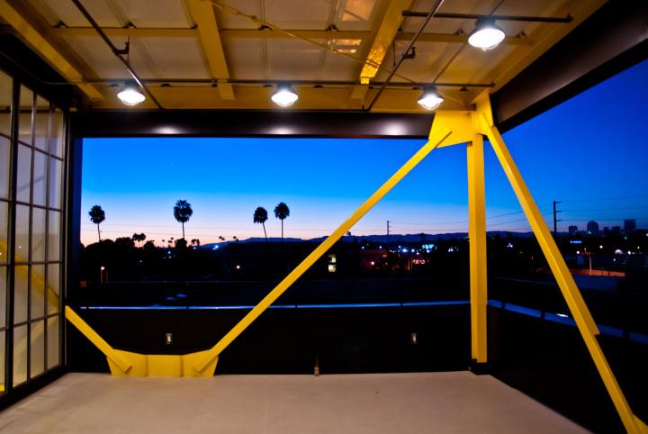 Территория офиса компании Framestore в Лос-Анджелесе