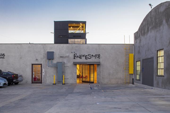 Вид на офис компании Framestore в Лос-Анджелесе