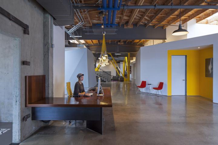 Интерьер офиса компании Framestore в Лос-Анджелесе
