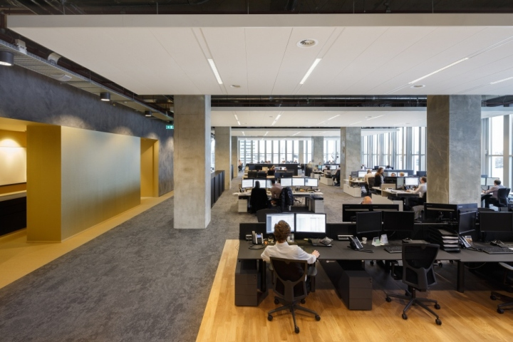 Функциональный дизайн офиса: строгие рабочие места