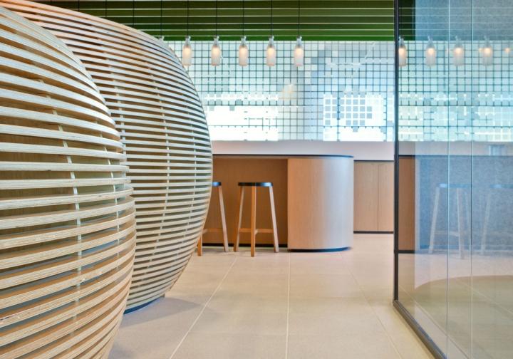 Гармоничный интерьер офиса: уникальные материалы и фактуры стен