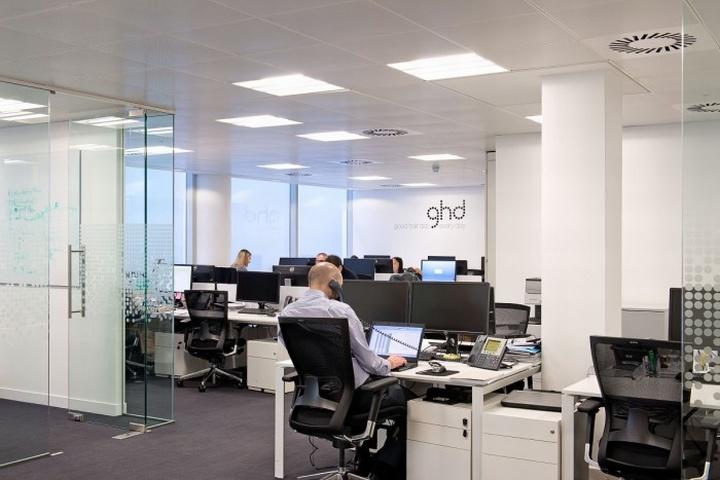 Штаб-квартира GHD в Лондоне