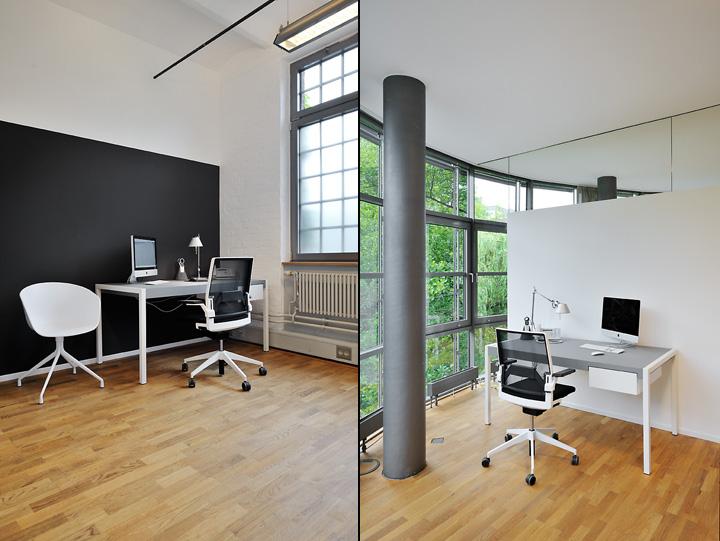 Интерьер медицинского центра Goldbek от студии sbp, Гамбург, Германия