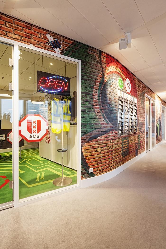 Дизайн офиса «Google» в Нидерландах