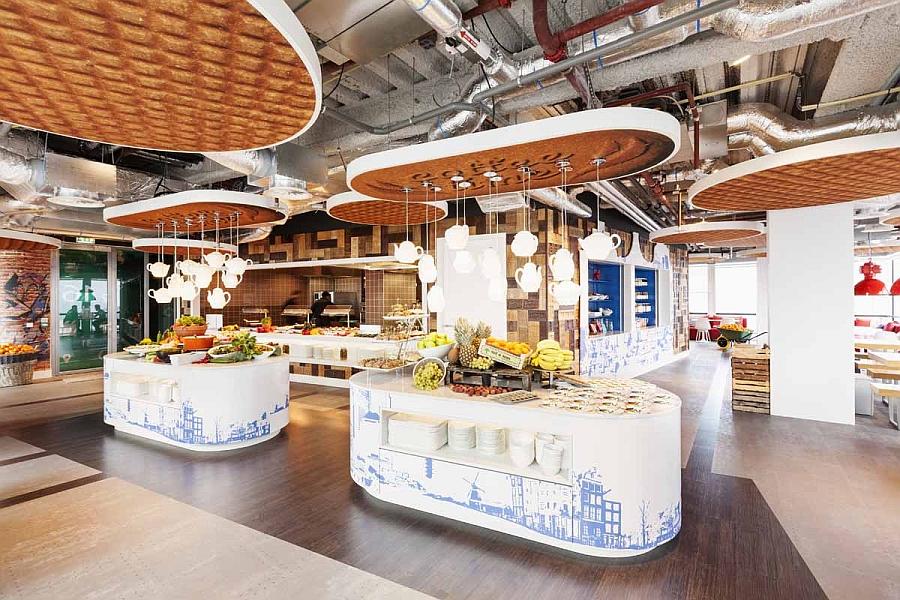 Буфет офиса «Google» в Нидерландах