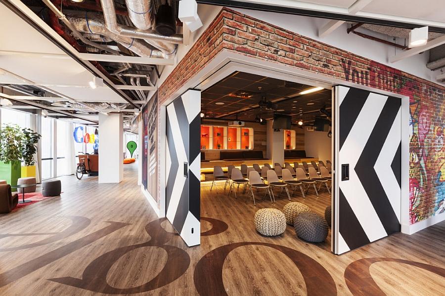 Конференц-зал офиса «Google» в Нидерландах