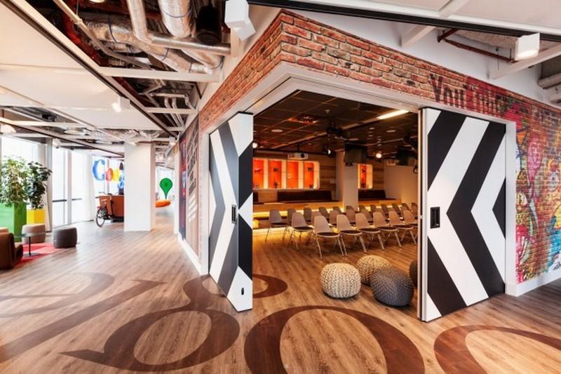 Великолепно продуманый интерьер офиса Google в Амстердаме