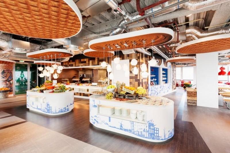 Место для трапезы в офисе Google