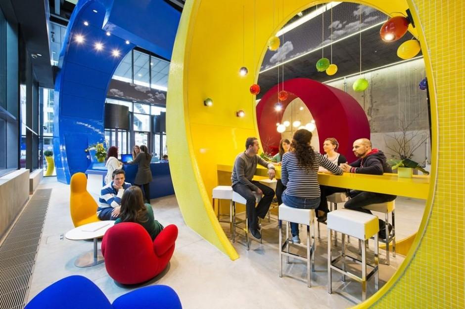 Креативный дизайн офиса Google в Дублине