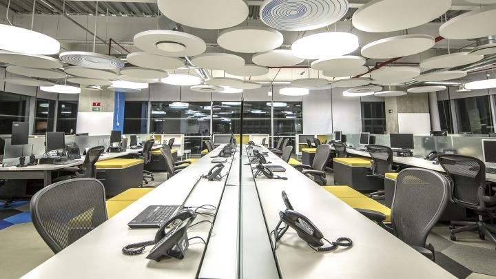 Креативный дизайн офиса корпорации Grupo CP в Мехико