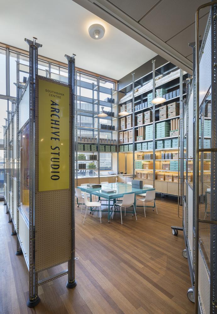 Идея интерьера архивного помещения от Jonathan Tuckey фото 1